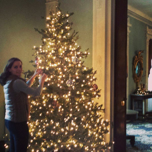Photo taken at Bartow-Pell Mansion Museum by Ellen B. on 1/7/2015