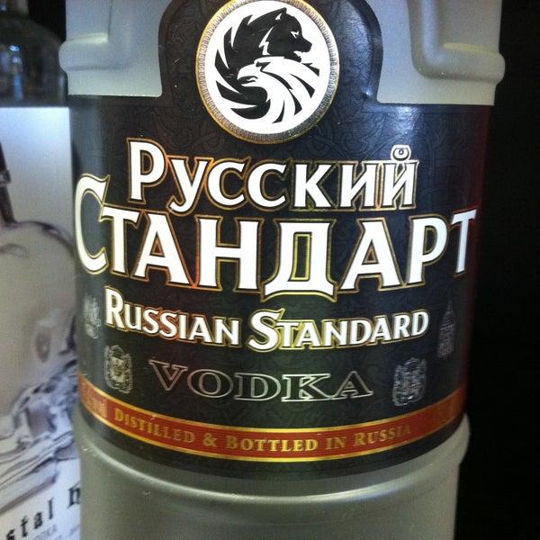 Russian Standard, good Vodka