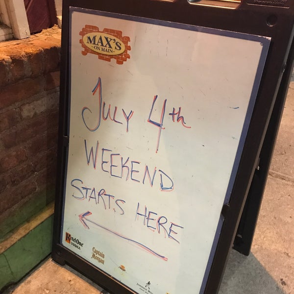 Photo taken at Max's on Main by Richard B. on 7/1/2017