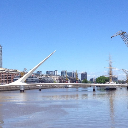 Photo taken at Puerto Madero by Gustavo N. on 11/15/2012