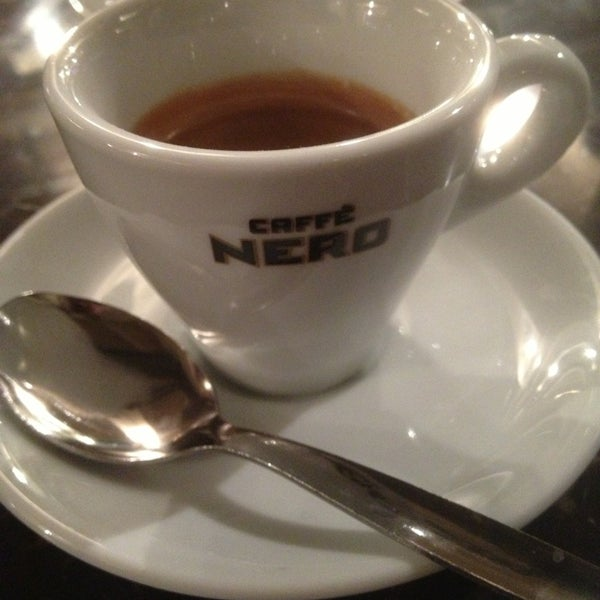 Photo taken at Caffè Nero by Mike P. on 12/20/2012
