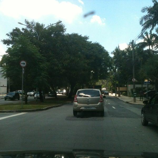 Photo taken at Avenida Brasil by Surya A. on 1/18/2013