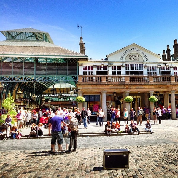 Photo taken at Covent Garden Market by Cappy P. on 6/4/2013