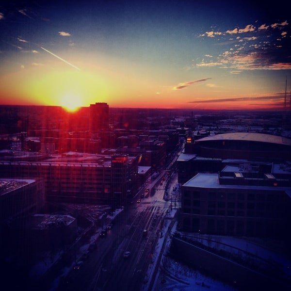 Photo taken at Hyatt Regency Columbus by Lindsay J. on 1/5/2014