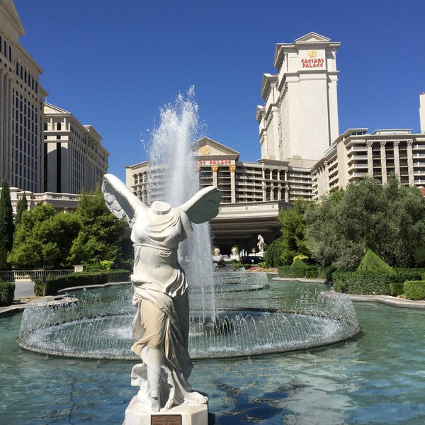Photo taken at Caesars Palace Gardens by Pepe B. on 8/28/2015