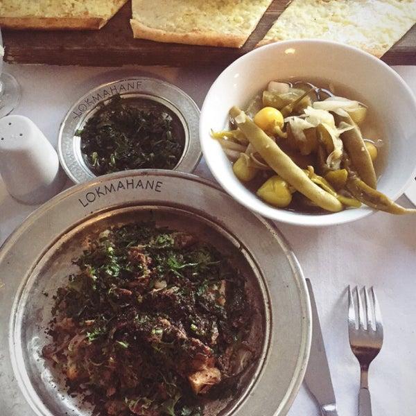12/9/2017 tarihinde Burcu L.ziyaretçi tarafından Lokmahane Restaurant'de çekilen fotoğraf