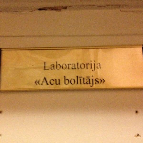 Photo taken at University of Latvia by Kaspars R. on 1/22/2013