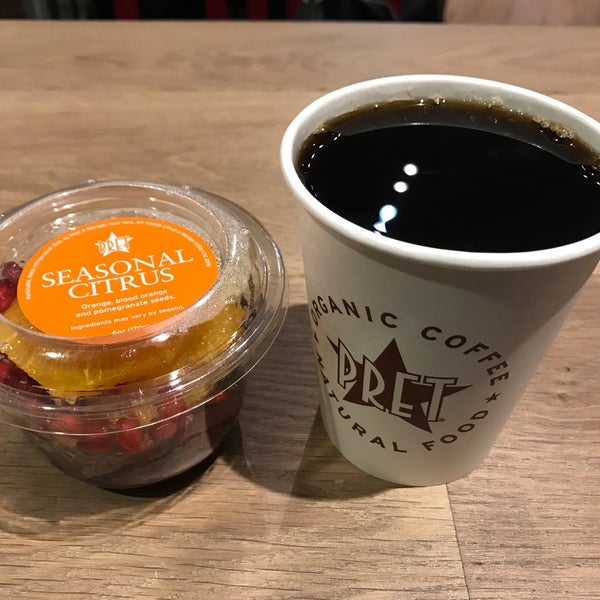 Photo taken at Pret A Manger by Georgiana M. on 2/17/2017