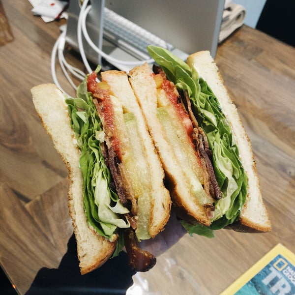 The BLT here is really good! Probably the best I've ever had!