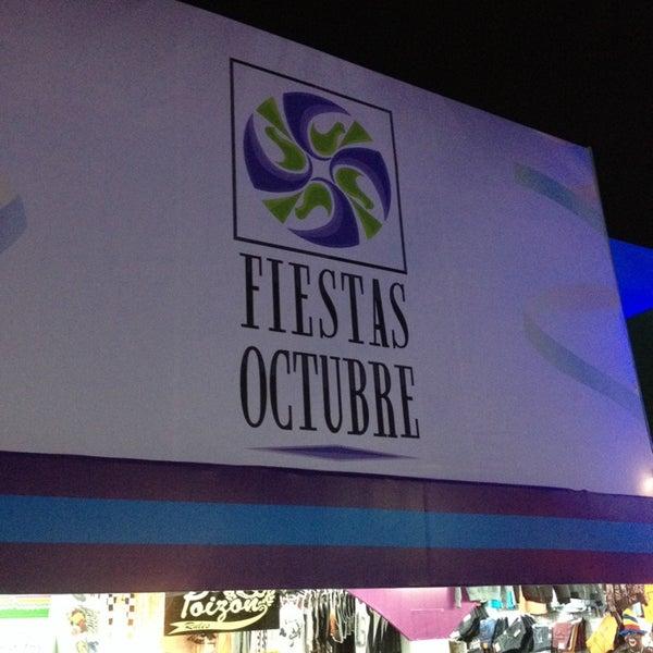Foto tomada en Fiestas de Octubre por Guillermo F. el 10/18/2013