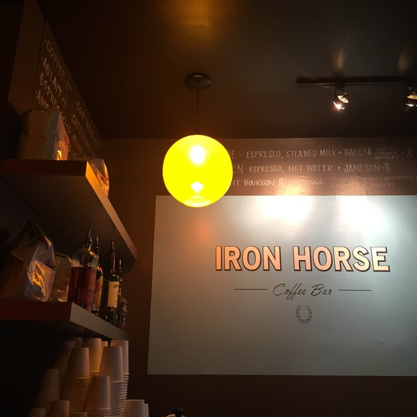 Photo taken at Iron Horse Coffee Bar by Kathleen N. on 12/9/2015