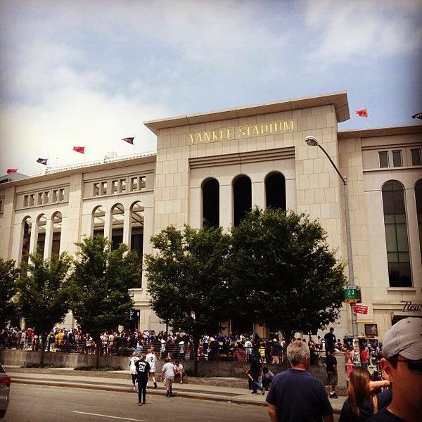 Photo taken at Yankee Stadium by Jake D. on 7/13/2013