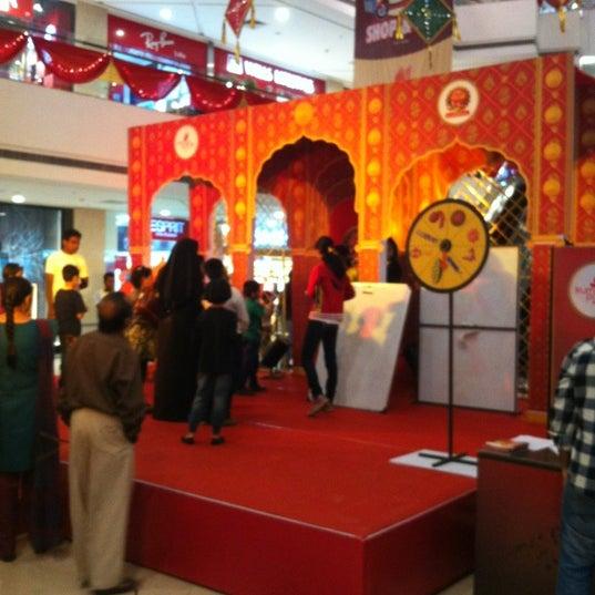 Photo taken at Kumar Pacific Mall by Daksh J. on 11/14/2012