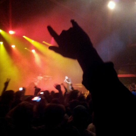 Photo taken at AB Ancienne Belgique by Michiel F. on 3/25/2013