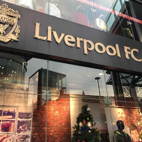 Photo taken at Liverpool FC Official Club Store by Aday on 12/13/2016