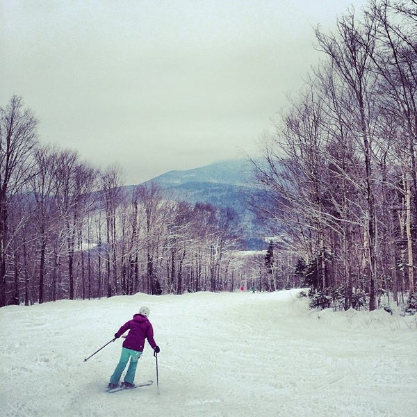 Photo taken at Bretton Woods by Brian H. on 2/2/2014