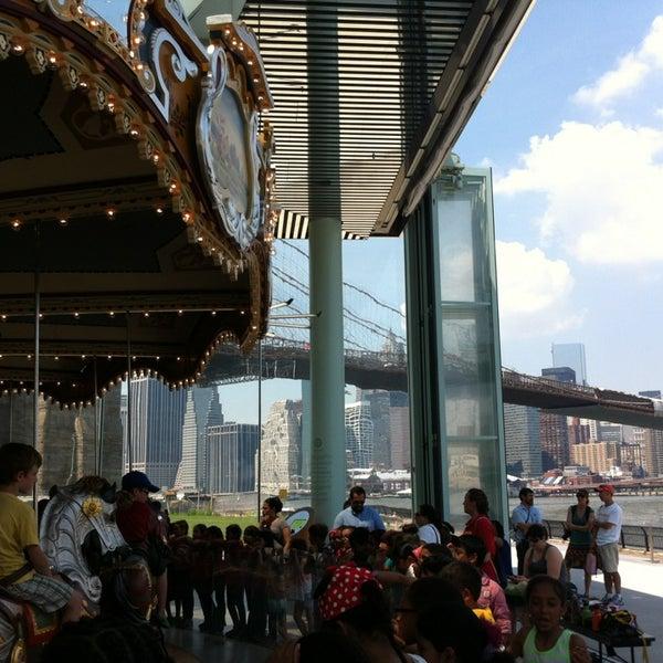 Photo taken at Jane's Carousel by Lauren M. on 5/30/2013