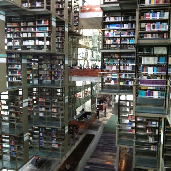 Photo taken at Biblioteca Vasconcelos by Isaac J. on 5/23/2013