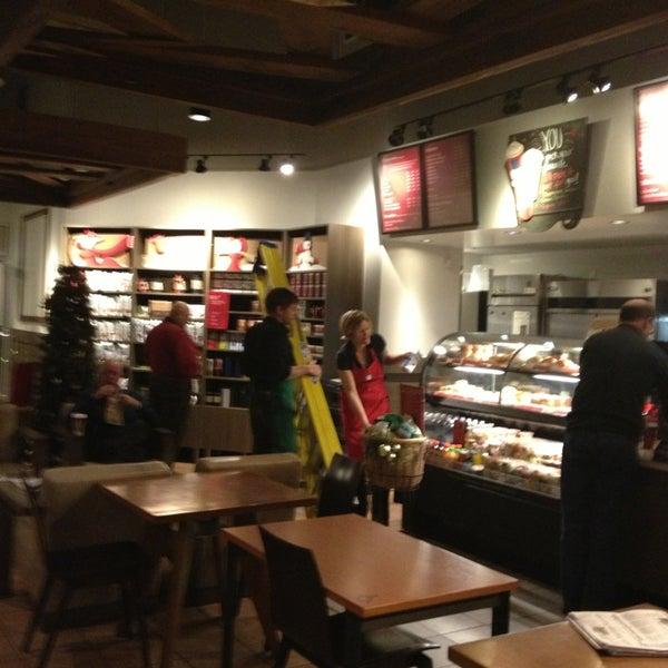 Photo taken at Starbucks by Steve G. on 12/21/2012