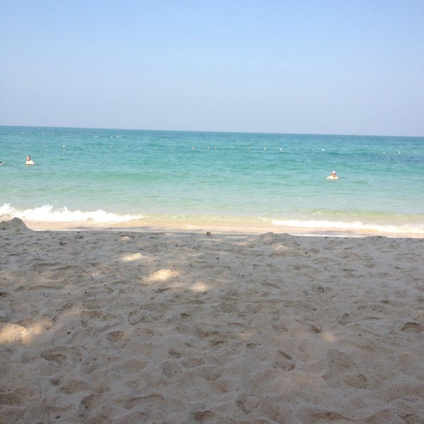 Photo taken at Sai Keaw Beach by Кристина К. on 12/27/2012