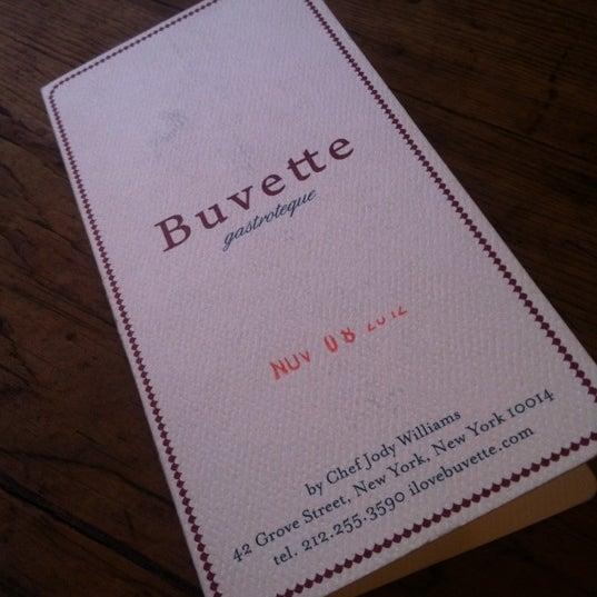 Foto scattata a Buvette da Kirk L. il 12/14/2012