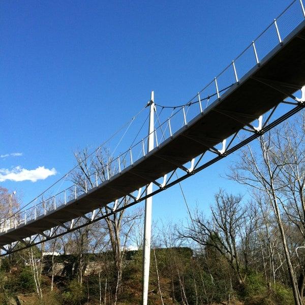 Photo taken at Liberty Bridge by Matt D. on 3/12/2013