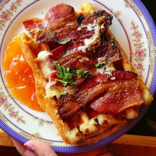 Foto tirada no(a) The Waffle Window por Joy M. em 1/19/2013