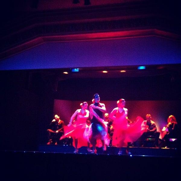 Photo taken at Palacio del Flamenco by Taygun Ö. on 11/24/2012