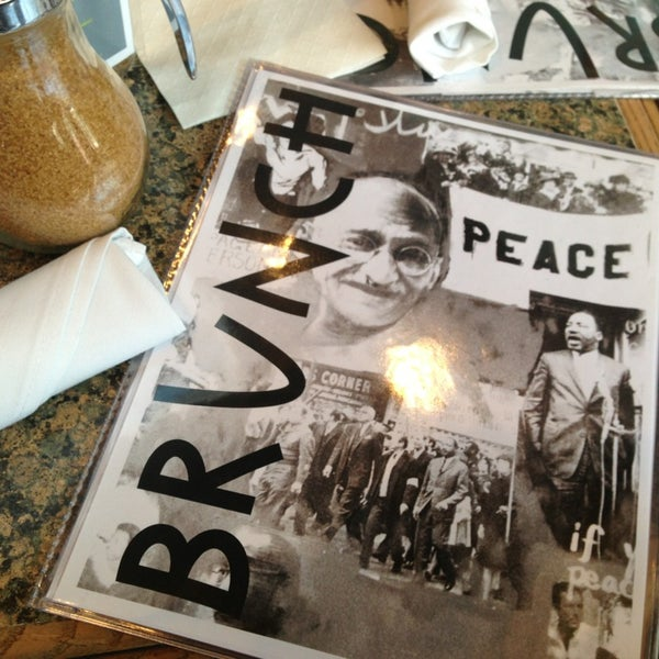 Photo taken at Busboys and Poets by Fernanda P. on 3/30/2013