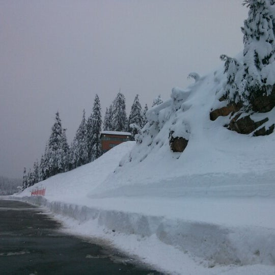 Photo taken at Cypress Mountain Ski Area by riacale on 12/31/2012