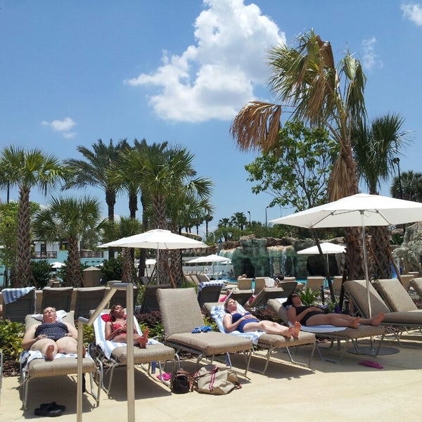 Photo taken at Marriott World Center Pool by Amy Y. on 5/18/2013