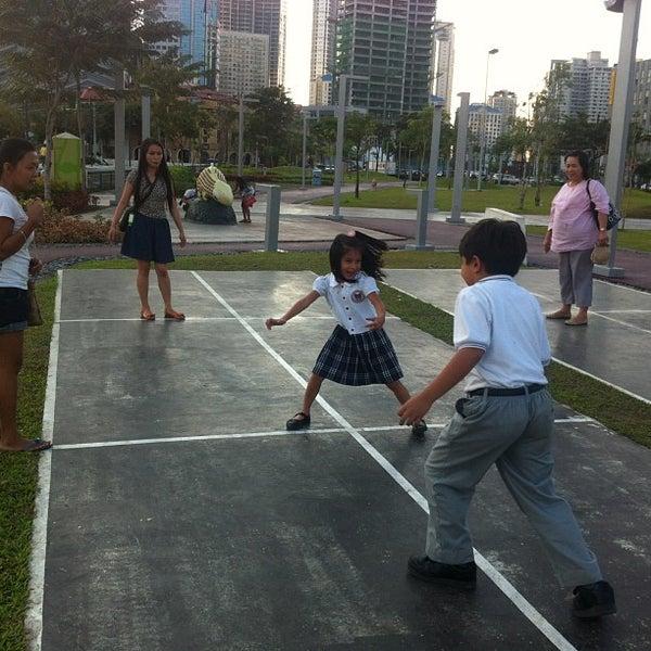 Photo taken at Bonifacio High Playground by Jacqueline L. on 1/24/2013
