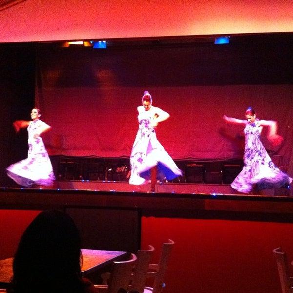 Photo taken at Palacio del Flamenco by Ozge O. on 11/24/2012