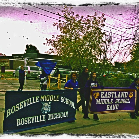 Photo taken at Eastland Middle School by Natasha A. on 10/15/2012