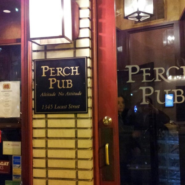 Photo taken at Perch Pub by Julian R. on 3/27/2013
