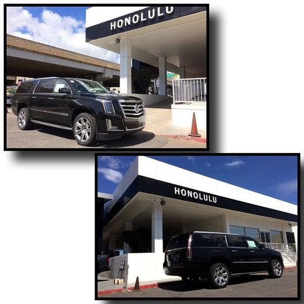 Photo taken at Honolulu Buick GMC Cadillac by Klinton K. on 6/17/2014