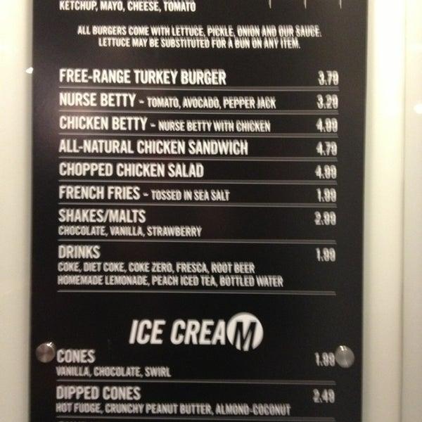 Photo taken at M Burger by Sam O. on 1/16/2013