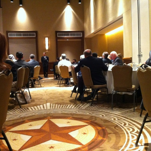 At t conference center room 204 university of texas for Dining at at t conference center austin