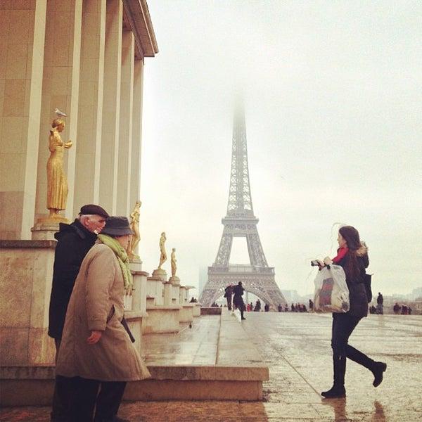 Photo prise au Place du Trocadéro par Katja P. le1/22/2013