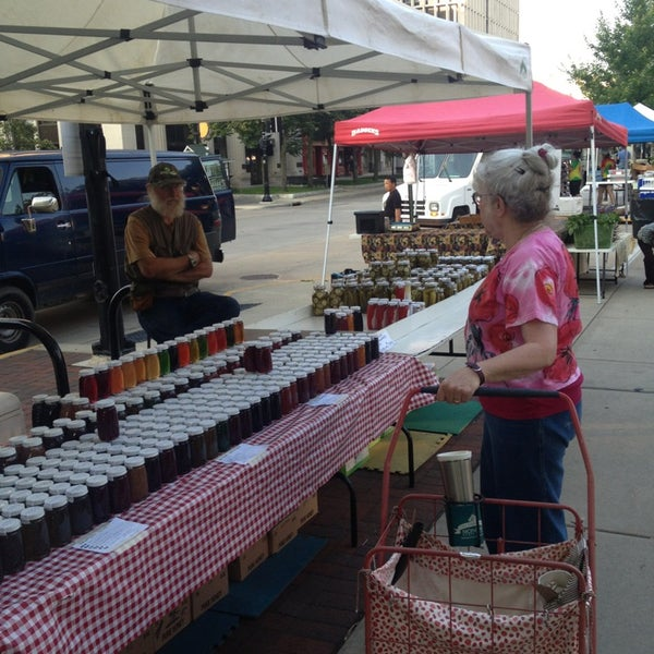 Photo taken at Dane County Farmers' Market by Steve S. on 7/6/2013
