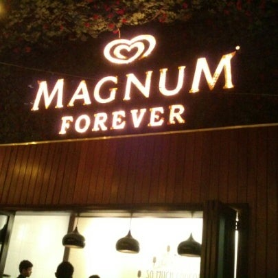 Photo taken at The New Magnum Café by Andrew D. on 3/26/2013