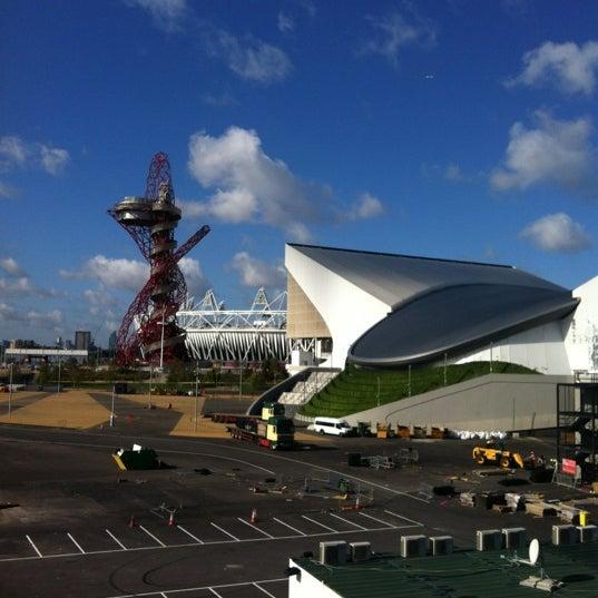 9/29/2012 tarihinde Sara R.ziyaretçi tarafından Queen Elizabeth Olympic Park'de çekilen fotoğraf
