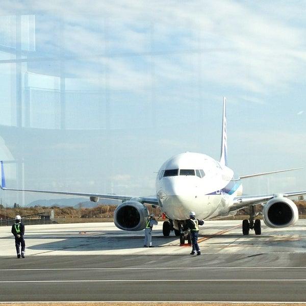 1/8/2013にMasahiko S.が岩国錦帯橋空港 / 岩国飛行場 (IWK)で撮った写真