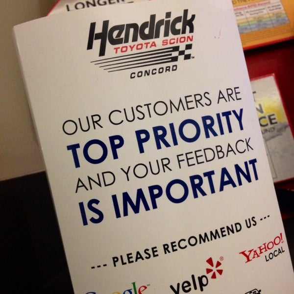 Photo Taken At Hendrick Toyota Concord By Ryan B. On 4/17/2014