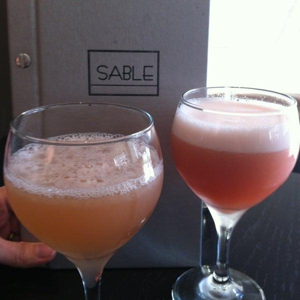 Photo taken at Sable Kitchen & Bar by Katylou M. on 3/29/2013
