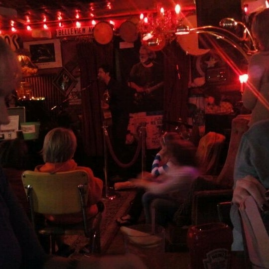 Photo taken at The Red Bar by Crystal R. on 2/25/2012