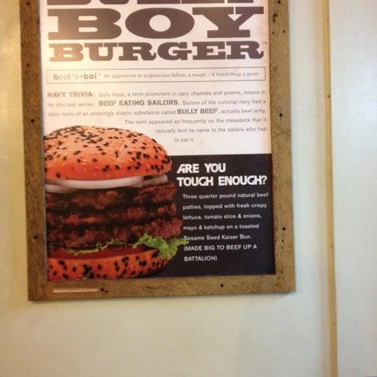Photo taken at Army Navy Burger + Burrito by Tynn P. on 4/17/2012