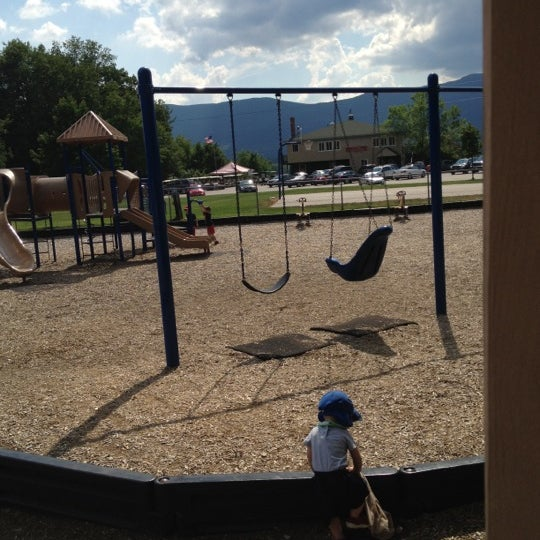 Photo taken at Schouler Park by Greg B. on 6/22/2012