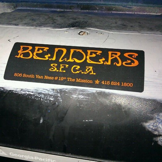 Photo taken at Bender's Bar & Grill by David S. on 1/13/2011