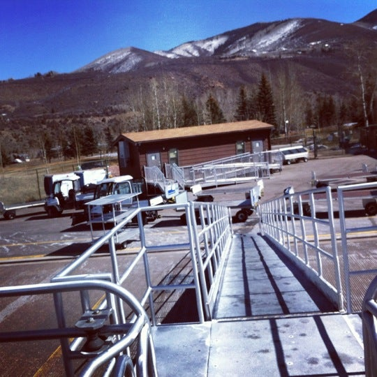Photo taken at Aspen/Pitkin County Airport (ASE) by Anne M. on 3/15/2012